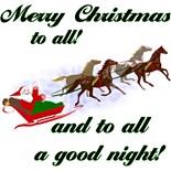 Horse Christmas