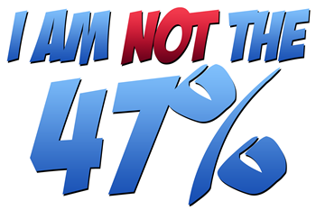 I Am NOT the 47%