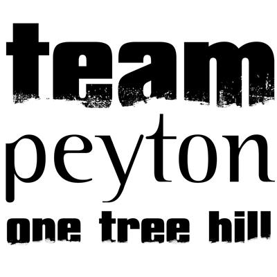 Team Peyton - One Tree Hill