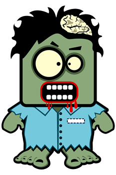 Cute Zombie Character
