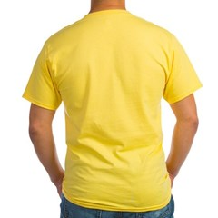 Wooden Boat Ash Grey Yellow T-Shirt