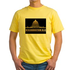 WASHINGTON2tr Yellow T-Shirt