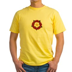 Tudor Rose Yellow T-Shirt