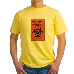 Hazardously Wasted Yellow T-Shirt
