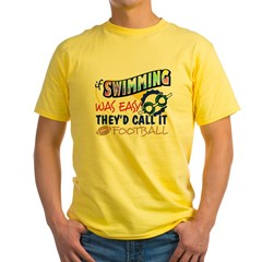 Swimming Was Easy Yellow T-Shirt