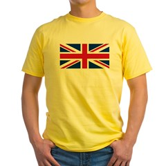 Union Jack Yellow T-Shirt