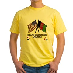 OEF Ash Grey Yellow T-Shirt