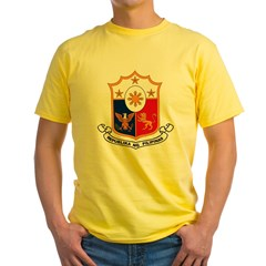 Philippines Coat of Arms Yellow T-Shirt