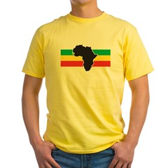 africa2 Yellow T-Shirt