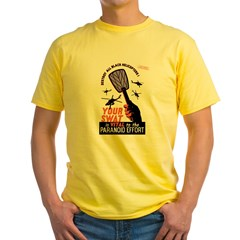 Your Swat Is Vital Yellow T-Shirt