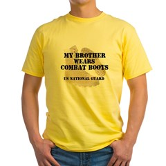 My Brother Wears NG DCB Yellow T-Shirt