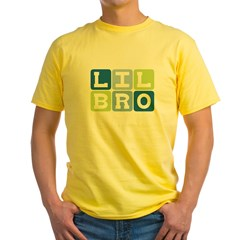Lil Bro Yellow T-Shirt