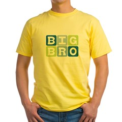 Big Bro Yellow T-Shirt