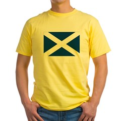 Scottish Flag Yellow T-Shirt