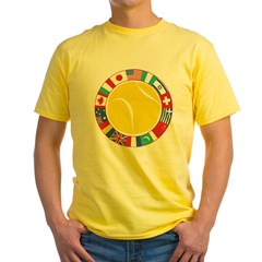 Tennis World Yellow T-Shirt
