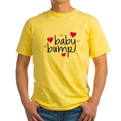 Baby Bump Yellow T-Shirt