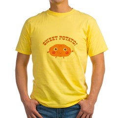 """Sweet Potato"" Yellow T-Shirt"