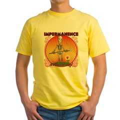 Impermanence4black Yellow T-Shirt