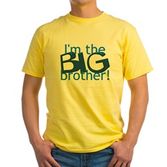 Big Brother Yellow T-Shirt