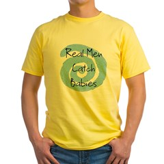 RealMen.jpg Yellow T-Shirt