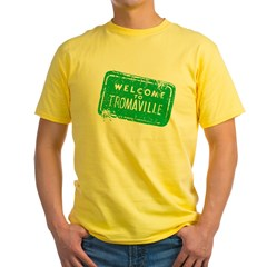 Welcome to Tromaville Yellow T-Shirt