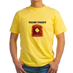 TEAM TOAST Yellow T-Shirt