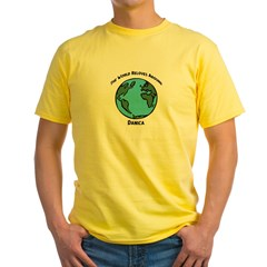 Revolves around Danica Yellow T-Shirt