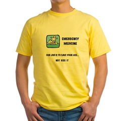 Emergency Medicine Yellow T-Shirt