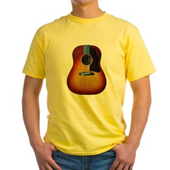 Gibson J-45 guitar Yellow T-Shirt