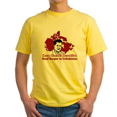 Beautify Canada Yellow T-Shirt