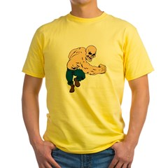 SUPER TOUGH Yellow T-Shirt