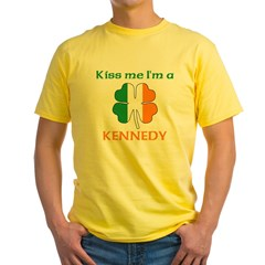 Kennedy Family Yellow T-Shirt