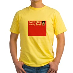 tonyblairlasttee Yellow T-Shirt