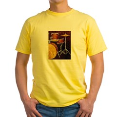 Drum Ki Yellow T-Shirt