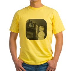 TV Yellow T-Shirt