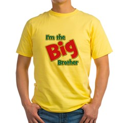 T I'm the Big Brother Yellow T-Shirt