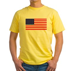 American Fla Yellow T-Shirt