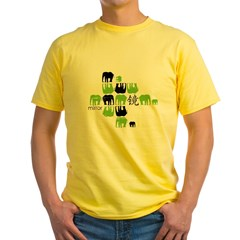 Concept arts Yellow T-Shirt