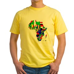 Africa Yellow T-Shirt