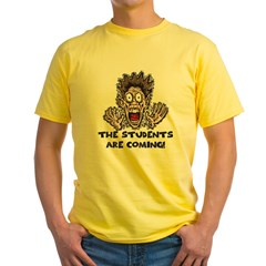 Funny Teacher Gifts Yellow T-Shirt