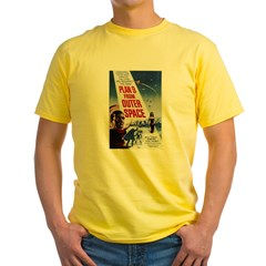 $19.99 Plan 9 from Outer Space Yellow T-Shirt