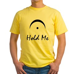 Hold Me Fermata Yellow T-Shirt