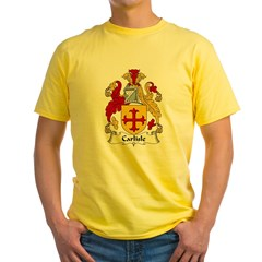 Carlisle Family Cres Yellow T-Shirt