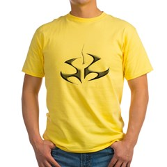 hitman logo shirt Yellow T-Shirt