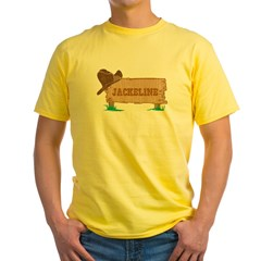 Jackeline western Yellow T-Shirt
