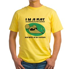 I'M A Rat Yellow T-Shirt