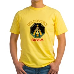 STS-121 NASA Yellow T-Shirt
