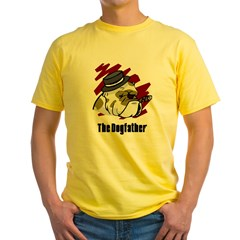 The Dogfather Yellow T-Shirt