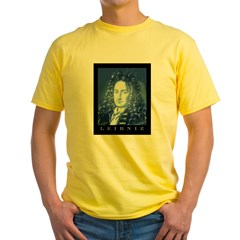 Leibniz Yellow T-Shirt