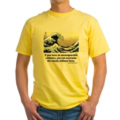 Unconquerable Yellow T-Shirt
